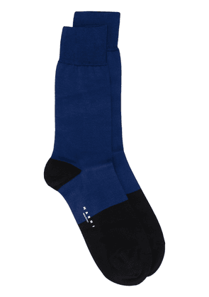 Marni colour block socks - Blue