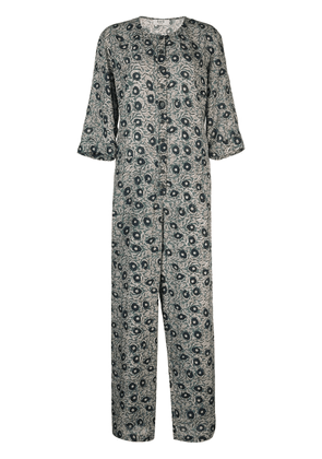 Sea Lucia Floral jumpsuit - Green