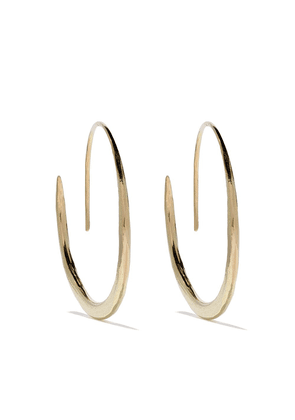 Wouters & Hendrix Gold 18kt gold hammered hoop earrings - Yellow Gold