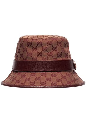 Gucci GG canvas fedora - Red