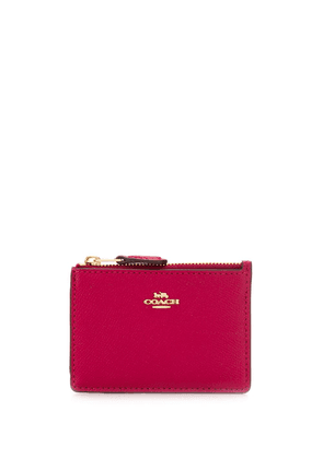Coach leather purse with chain - Pink
