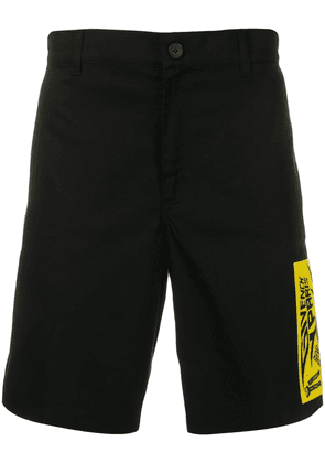Givenchy logo chino shorts - Black