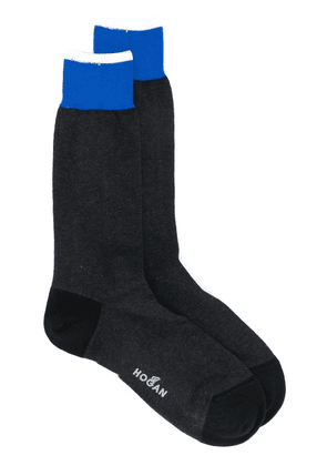 Hogan logo socks - Black
