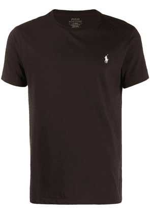Polo Ralph Lauren signature embroidered pony T-shirt - Brown