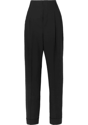 Haider Ackermann - Pleated Wool Pants - Black