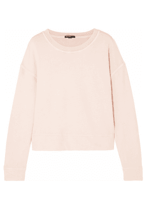 James Perse - French Cotton-terry Sweatshirt - Pastel pink