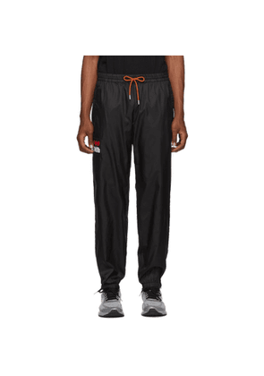 Heron Preston Black Nylon Track Pants
