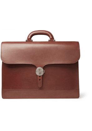 James Purdey & Sons - Audley Leather Briefcase - Brown