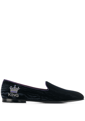 Dolce & Gabbana King loafers - Blue