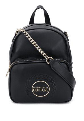 Versace Jeans Couture embossed backpack - Black