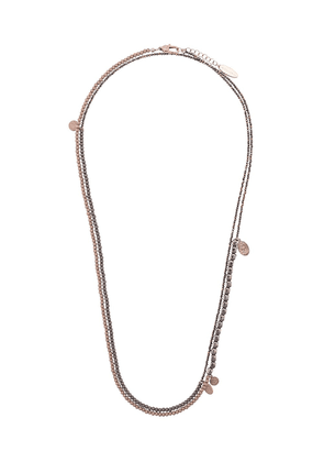Brunello Cucinelli layered bead necklace - Gold