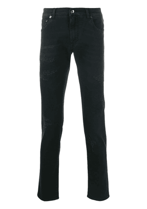Dolce & Gabbana distressed slim fit jeans - Blue