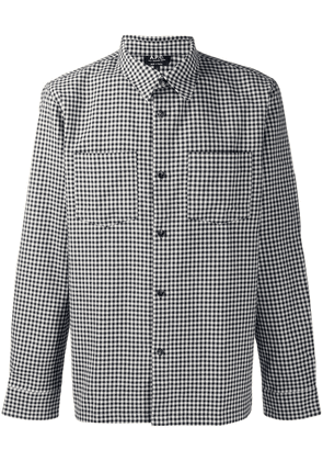 A.P.C. checked shirtst - Blue