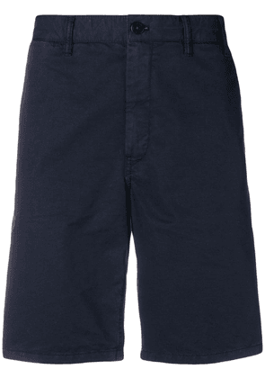 Norse Projects fitted classic shorts - Blue