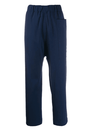 Sofie D'hoore elasticated waist trousers - Blue