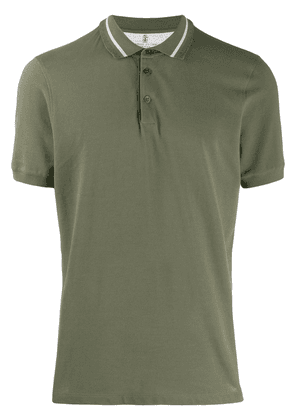 Brunello Cucinelli classic polo shirt - Green
