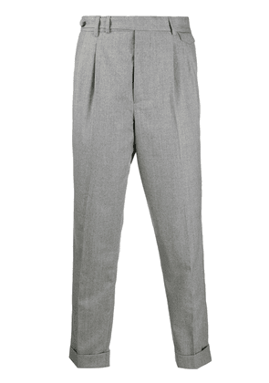 Brunello Cucinelli tapered trousers - Grey