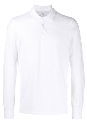 Brunello Cucinelli polo shirt - White