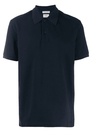 Bottega Veneta short sleeved polo top - Blue