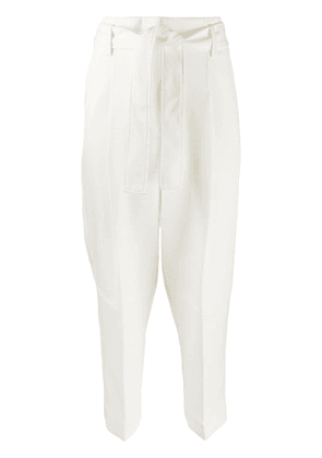 3.1 Phillip Lim cropped tailored trousers - White