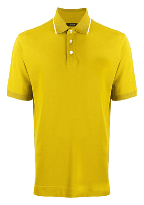 Z Zegna short-sleeve polo shirt - Yellow