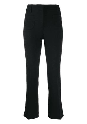L'Autre Chose tailored cropped trousers - Black