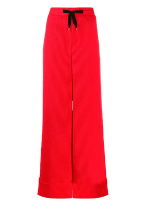 Roland Mouret wide leg trousers - Red