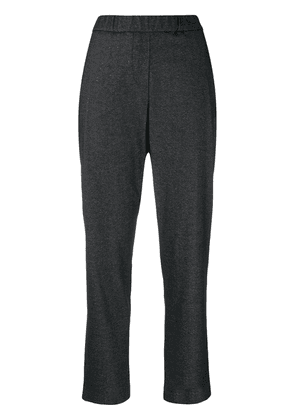 Fabiana Filippi pleated cropped trousers - Grey