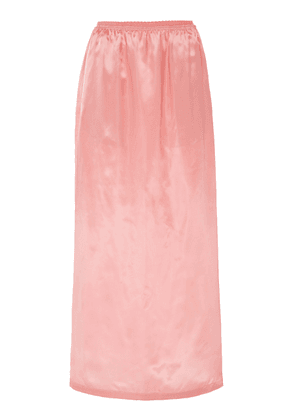 MM6 Satin Midi Skirt