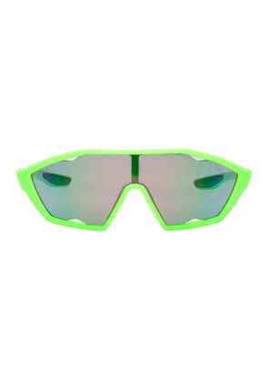 Prada Green Mirrored Lens Sunglasses