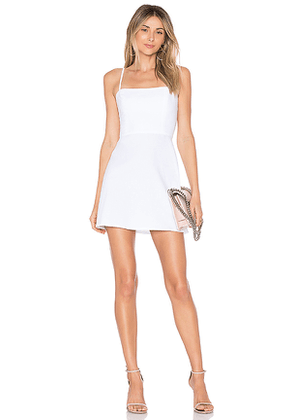 by the way. Vienna A-Line Mini Dress in White. Size L,M.