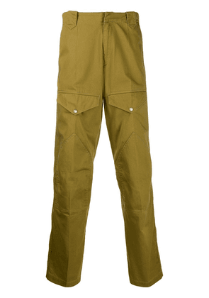 Givenchy multipockets military pants - Green