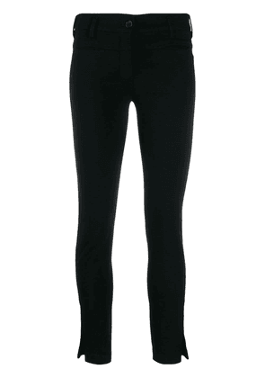Ann Demeulemeester slim fit trousers - Black