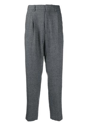 Ann Demeulemeester tailored houndstooth trousers - Grey