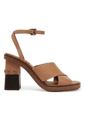 See By Chloé - Embellished Leather Sandals - Tan