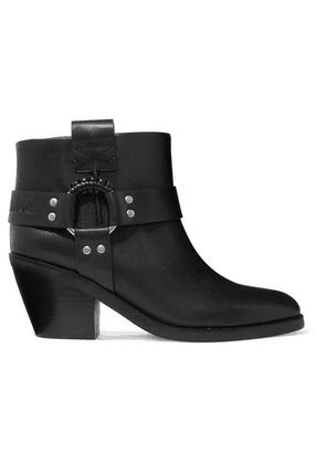 See By Chloé - Leather Ankle Boots - Black