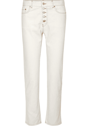 Joseph - Den High-rise Straight-leg Jeans - White