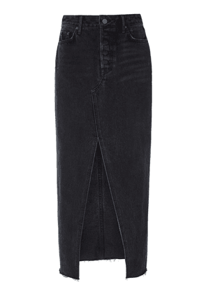 GRLFRND Denim Isla Denim Midi Skirt