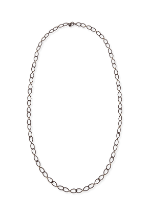 Old World Open Shield Link Necklace