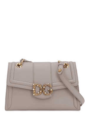 Dg Amore Small Leather Shoulder Bag