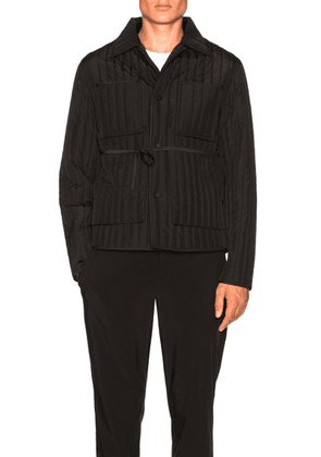 Craig Green Quilted Work Jacket in Black - Black. Size L (also in ).