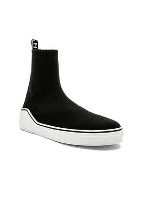 Givenchy George V Mid Sock Sneakers in Black & White - Black. Size 41 (also in 40,42,43,44,45).