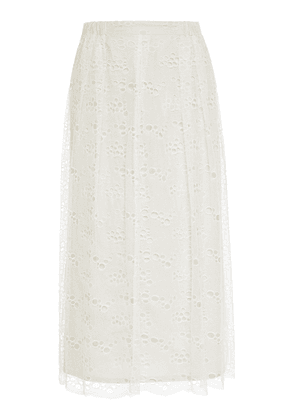 Roseanna Light Lace Midi Skirt