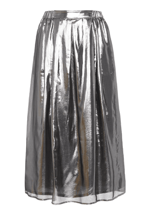 Roseanna Light Metallic Midi Skirt