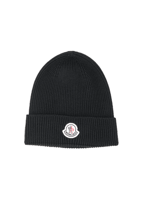 Moncler Beanie in Black - Black. Size all.