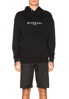 Givenchy Logo Hoodie in Black - Black. Size M (also in ).