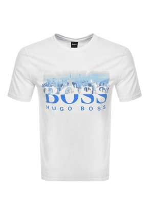 BOSS Casual Trek 4 T Shirt White