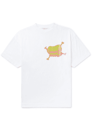 Palm Angels - Printed Cotton-jersey T-shirt - White