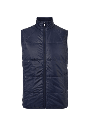 Dunhill Links - Muirfield Quilted Shell Golf Gilet - Navy