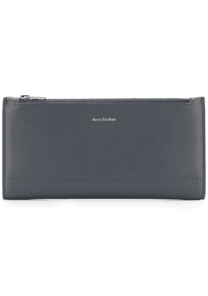 Acne Studios continental fold wallet - Blue